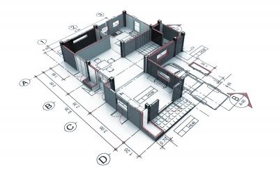 3D mudel ja plaan